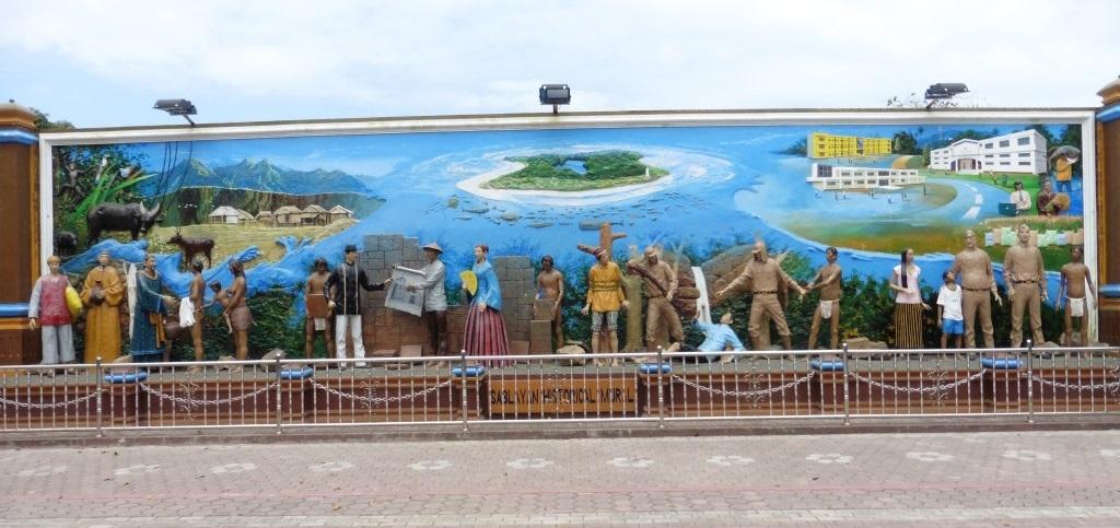 Sablayan town mural